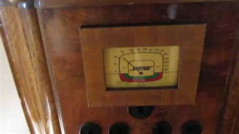 1930's Antique Radio fitted with iPod dock and Bose