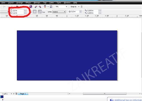 cara membuat x banner corel design graphic cara membuat banner dengan coreldraw