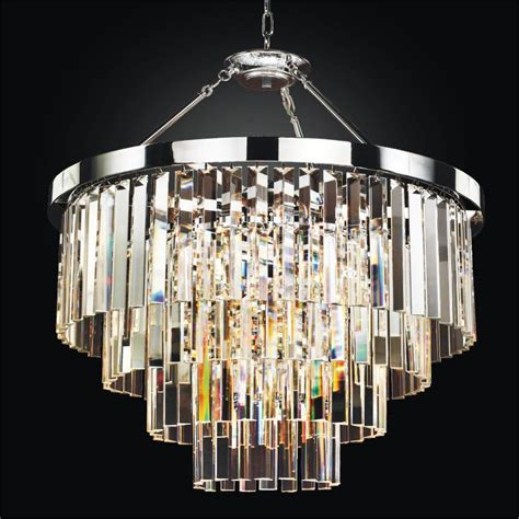 modern glass pendant chandelier to semi flush mount