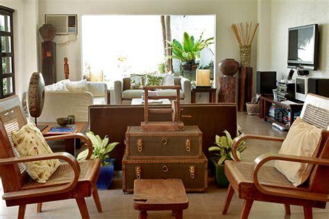 house furniture design in philippines a filipino inspired duplex with antiques and wooden pieces