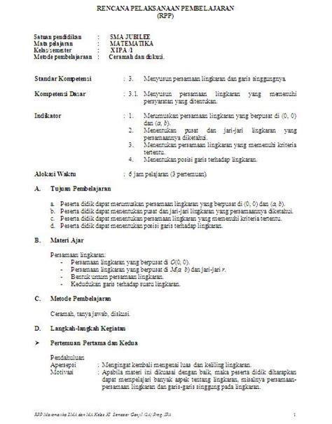 Bahasa Indonesia Smk Jilid 3 Ktsp contoh rpp dan silabus kurikulum 2013 sd smp dan sma