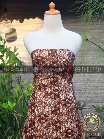 Genes Warna Alam jual kain batik motif klasik simetris ceplok nithik thebatik co id
