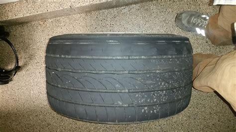 rear tire wear  cuppingthoughts rennlist porsche discussion forums