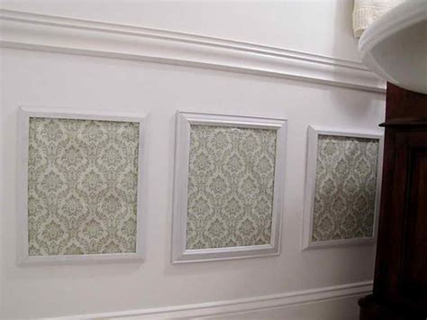 Faux Wainscoting Wallpaper walls simple ways to install faux wainscoting wallpaper