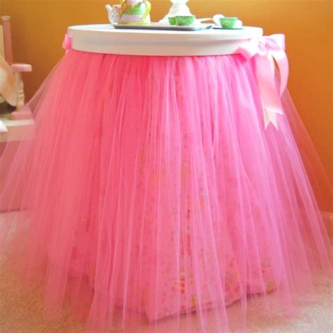 Sassy Sanctuary Tutu Table by Want To Do Something Like This For Baby Girlie