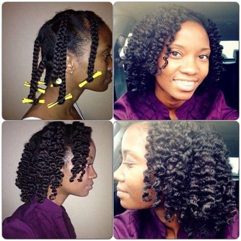 jerry curl rollers co washed braid out 67 crushworthy natural hair ideas from