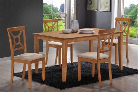 Country Style Dining Table Sets 5pc Chic Style Country Color Dining Table Set