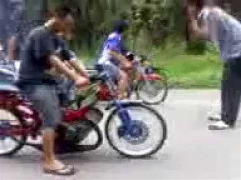 Kompor Gas Cing motor drag race rx king vs satria