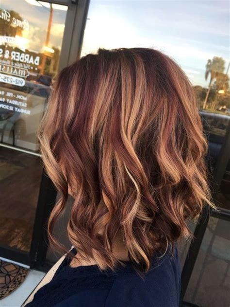 coole frisuren moderne haarschnitte rote haare mit