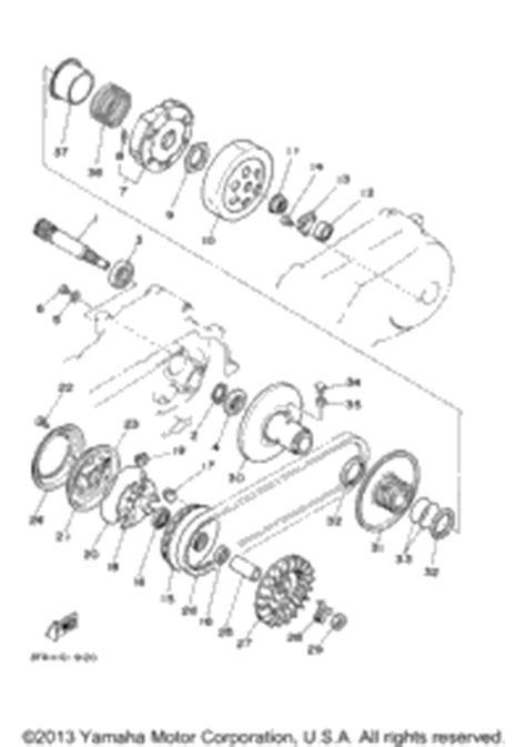yamaha grizzly 125 carburetor diagram 2013 yamaha grizzly 125 yfm125gdgr oem parts babbitts