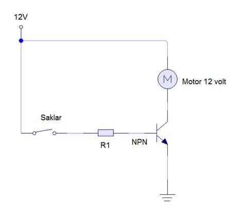 Saklar Elektronik rangkaian pengendali motor dc bagus prehan