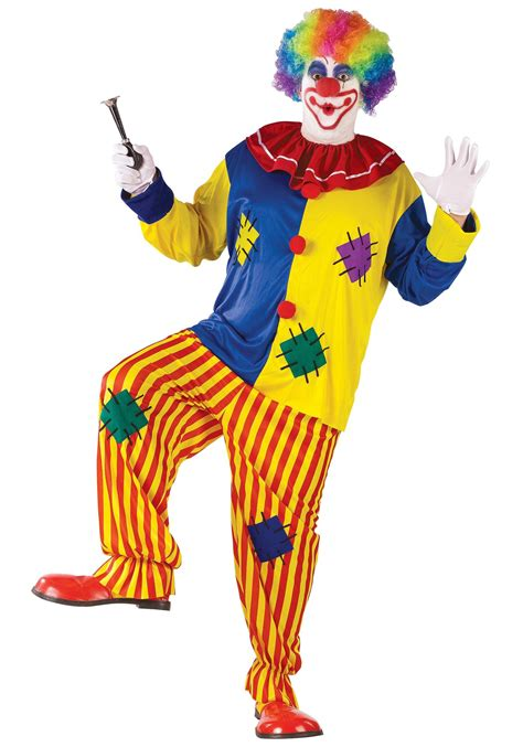 large costumes big top clown costume