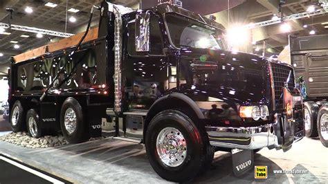 volvo vhdb  dump truck   hp engine walkaround  expocam montreal