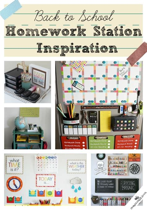 homework station ideas back to school homework station idea pictures photos and