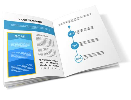 12 Pages 8 5x11 Brochure Mockup Cover Actions Premium Mockup Psd Template 8 5 X 11 Booklet Template