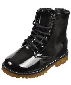 Combat boots for kids girls eddie marc quot surge quot combat boots toddler