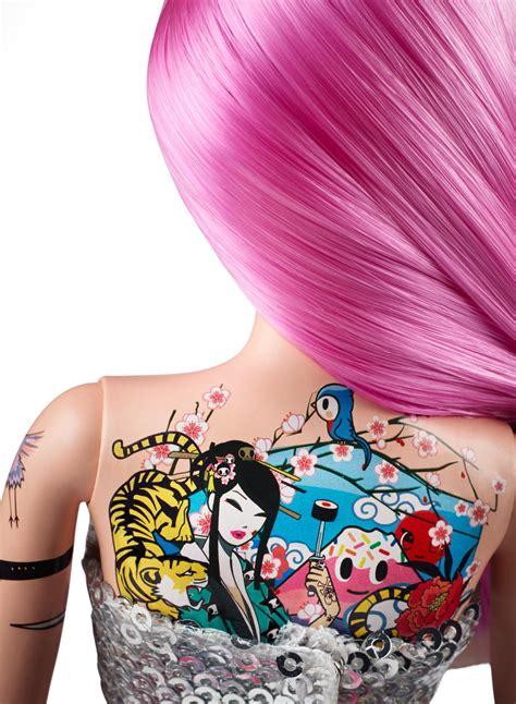 barbie tattoo quiz games amazon com barbie 10th anniversary tokidoki barbie toys