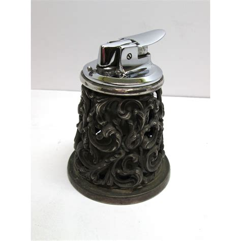 accendino da tavolo accendino da tavolo ronson made in germania in acciaio