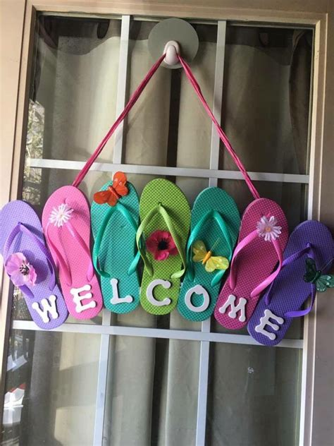 summer decoration ideas to make your own for your garden 25 best ideas about welcome signs on pinterest
