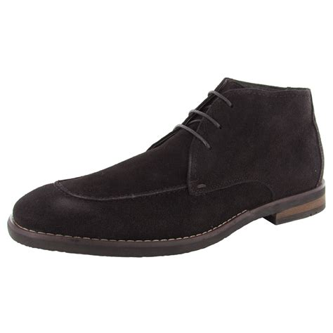 robert wayne mens tatum lace up chukka boot shoes ebay