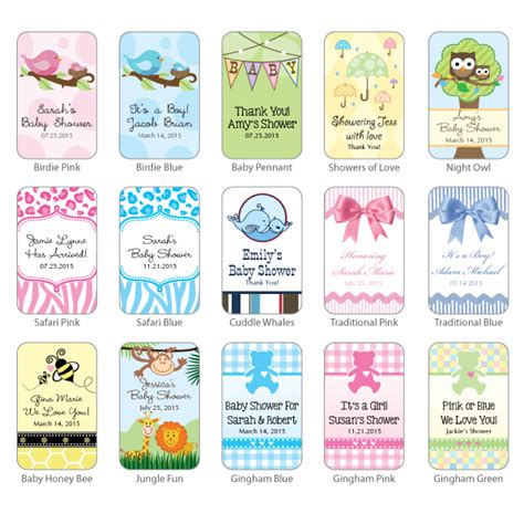 Personalized Baby Shower Hand Sanitizer With Carabiner Baby Shower Favors Baby Shower Favors Personalized Sanitizer Label Template