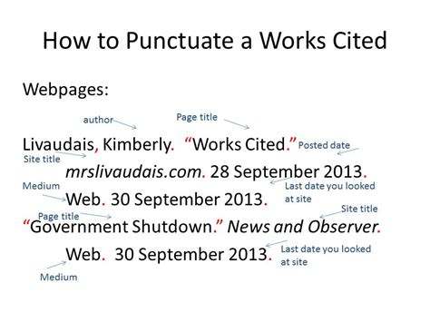 how to cite a website in mla format mla citation guide easybib