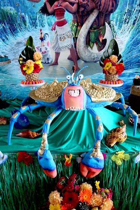 Table Decoration Ideas For Birthday Party by Kara S Party Ideas Moana Birthday Party Kara S Party Ideas