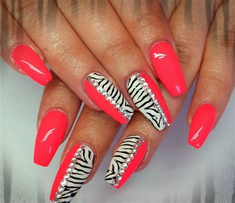 nails designs zebra print 22 zebra nail art designs ideas design trends