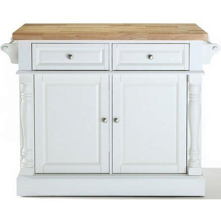 Kitchen Cart With Butcher Block Top White by Butcher Block Cutting Board Top Kitchen Island In White