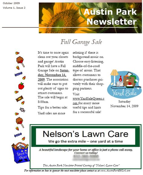 Nursing Home Newsletter Ideas Home Decor Takcop Com Free Hoa Newsletter Templates