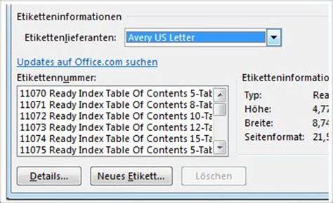 Ordner Etiketten Drucken Programm by Erstellen Und Drucken Etiketten Mit Der