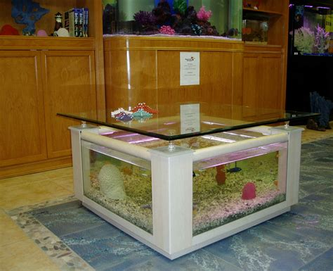 coffee table aquarium aquarium coffee table
