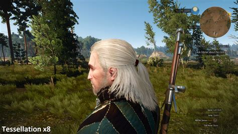all new hair in witcher 3 amd announces witcher 3 hairworks performance fix via