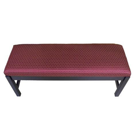 custom upholstered bench custom upholstered bench country lane furniture