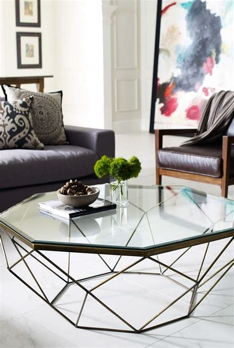 glass living room table 29 chic glass coffee tables that catch an eye digsdigs