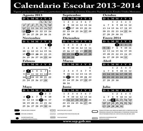 Calendario 2014 Mexico Calendario Sep 2013 2014 La Economia