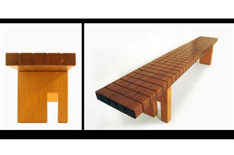 designboom benches gonzagao bench designboom com