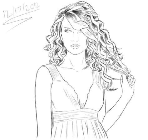 taylor swift free coloring pages