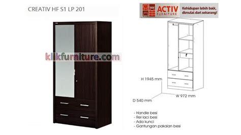 Lemari Activ activ creativ hf s1 lp 201 lemari pintu 2