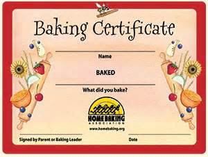 Certificate template for baking gallery certificate design and certificate template for baking images certificate design and certificate template baking gallery certificate design and template yadclub Gallery