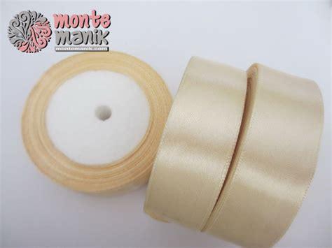 Pita Satin 1inch 2 5cm pita satin ivory 1 inch pita 021 montemanik
