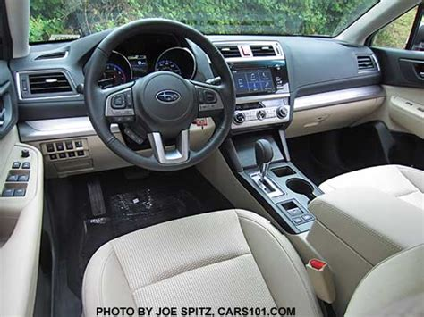 subaru outback 2017 interior 2017 outback specs options colors prices photos and more