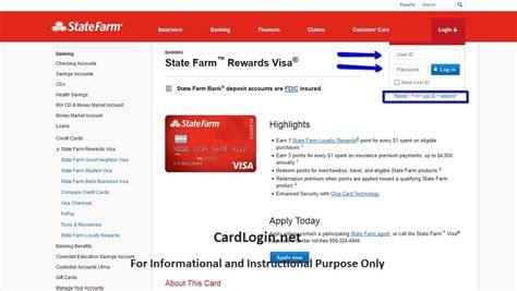 state farm rewards visa   login   apply