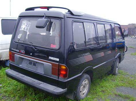 mazda bongo mazda bongo technical specifications and fuel economy
