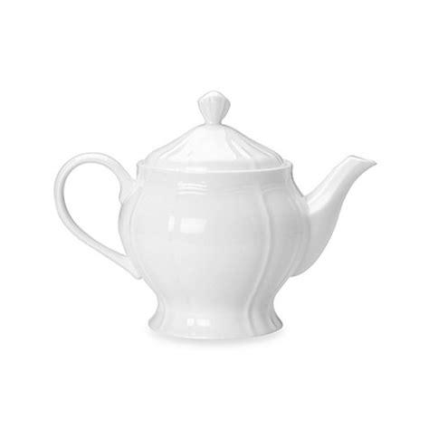 teapot bed bath and beyond mikasa 174 antique white teapot bed bath beyond