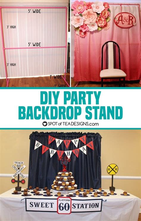 dessert table backdrop stand diy backdrop stand for dessert table do it your self