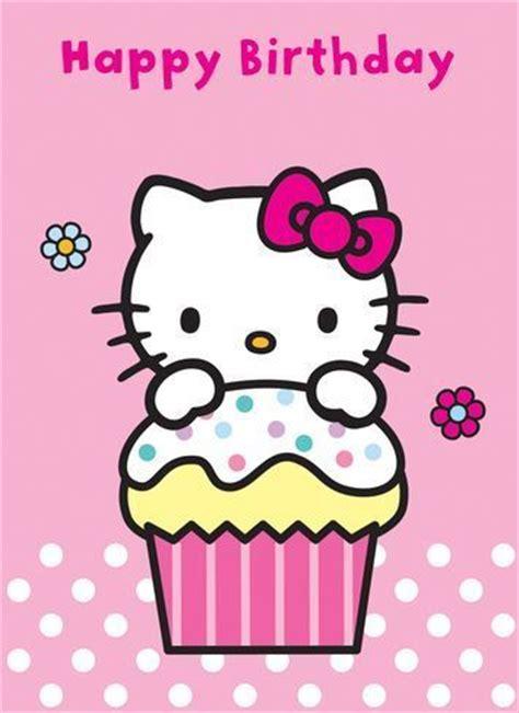 imagenes de kitty feliz cumpleaños tarjetas de cumplea 241 os de hello kitty para imprimir