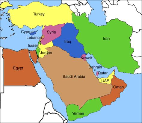 middle east map no names a crash course in the israeli palestine conflict