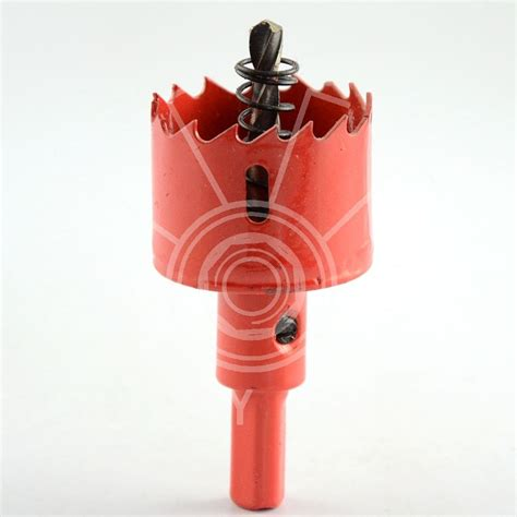 40mm bench drill bit saw drilling door knobs iron