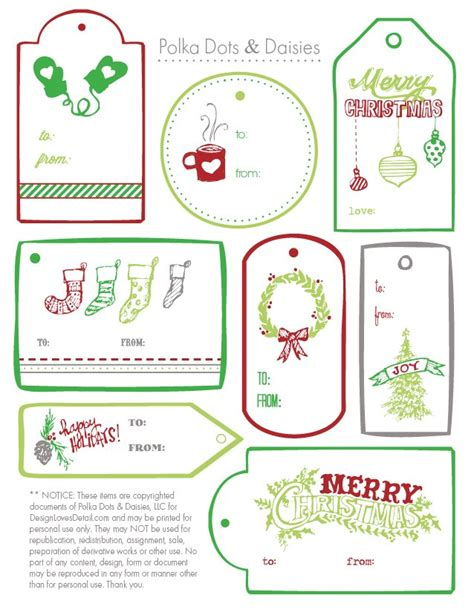 printable christmas gift tags to make christmas gift tag templates free best template idea